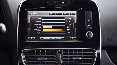 Renault Clio RS - screen