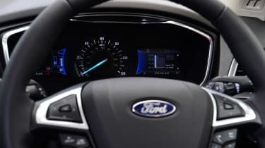 Ford Mondeo Hybrid Estate - steering wheel