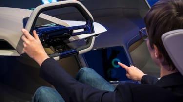BMW HoloActive touch concept - dash