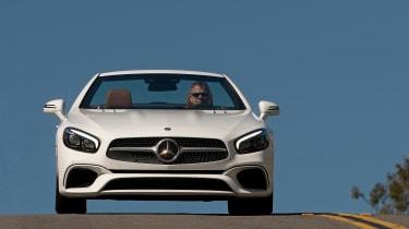 Mercedes SL400 - front action
