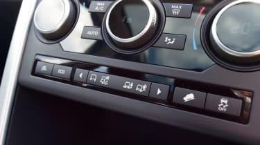 Land Rover Discovery Sport - Terrain Response buttons