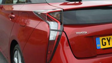 Toyota Prius - rear detail