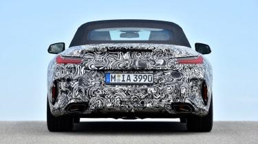 BMW Z4 prototype - full rear