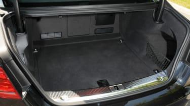 Audi S8 boot