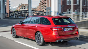 Mercedes E-Class Estate 2016 - rear tracking 2