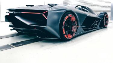 Lamborghini Terzo Millennio - rear/side