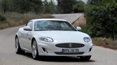 Jaguar XK Coupe front cornering