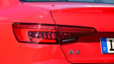 New Audi A4 2016 lights