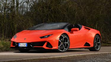 Lamborghini Huracan Evo Spyder - front static