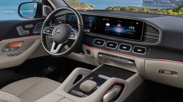 Mercedes GLS - green dash
