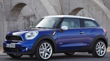 MINI Paceman front static