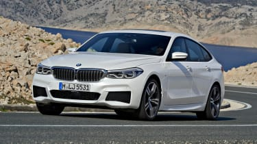 BMW 6 Series Gran Turismo - front action