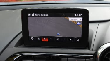 Mazda MX-5 rear tracking
