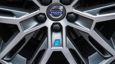 Volvo Polestar performance parts closeup wheel