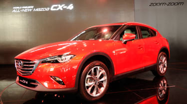 Mazda CX-4 front quarter
