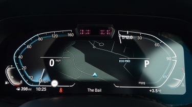 BMW X6 - dials