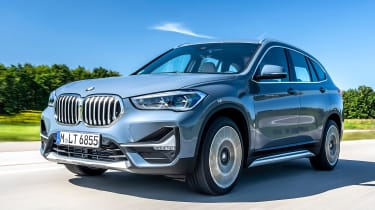 BMW X1 review - front tracking