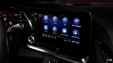 2020 Chevrolet Corvette - screen