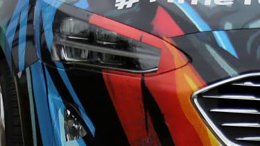 2018 Ford Focus Hatchback spy headlamp