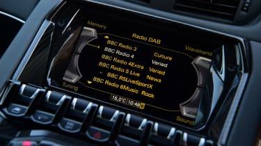 Lamborghini Aventador SVJ - infotainment
