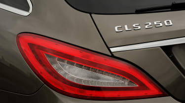 Mercedes CLS 250 CDI Shooting Brake badge