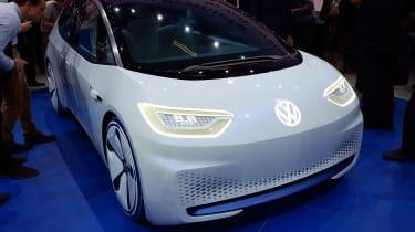 Volkswagen ID Concept at Paris Motor Show 2016