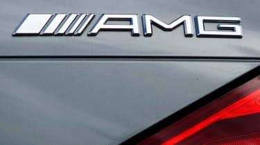 Mercedes SL 63 AMG badge