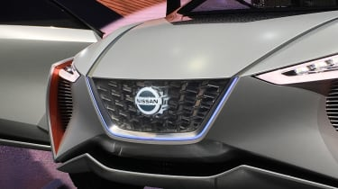 Nissan IMx SUV concept - Tokyo grille