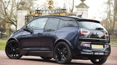 BMW i3s in-depth review - rear