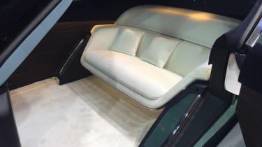 Rolls-Royce Vision Next 100 - interior detail reveal