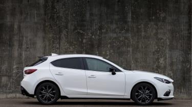 Mazda 3 Sport Black side