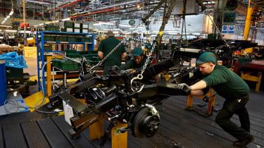 Land Rover factory tour