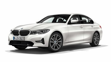 Leaked BMW 3 Series - front white