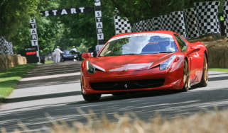 Ferrari 458 Spider at Goodwood