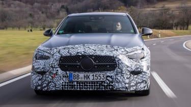 Mercedes C-Class prototype - full front