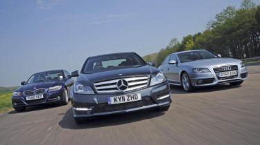 Mercedes C-Class vs Rivals front