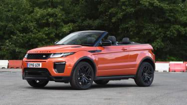 Range Rover Evoque Convertible - front static
