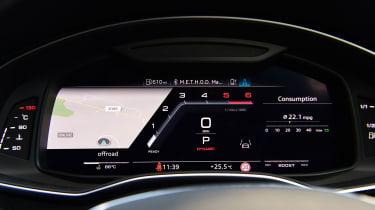 Audi S6 Avant - dials