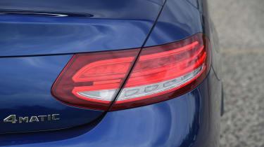 Mercedes C-Class Cabriolet - rear light detail