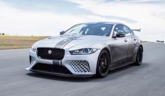 Jaguar XE SV Project 8 - front track