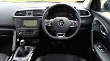 MG GS vs rivals - Renault Kadjar interior