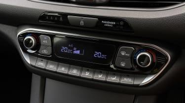 Hyundai i30 Tourer - centre console