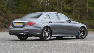 Mercedes E 350e - rear static
