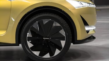 Skoda Vision E concept - wheel