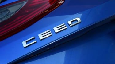 Kia Ceed badge