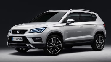 SEAT Ateca SUV 2016 - front quarter white