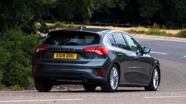 Ford Focus - rear cornering