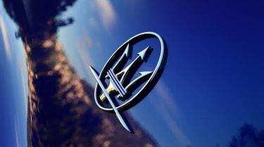 Maserati Ghibli facelift - Maserati badge