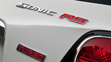 Chevrolet Aveo RS interior