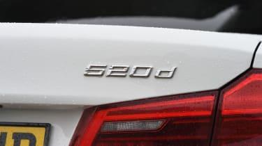 BMW 520d - 520d badge